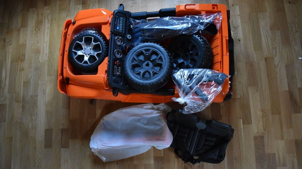 How to Assemble Power Wheels