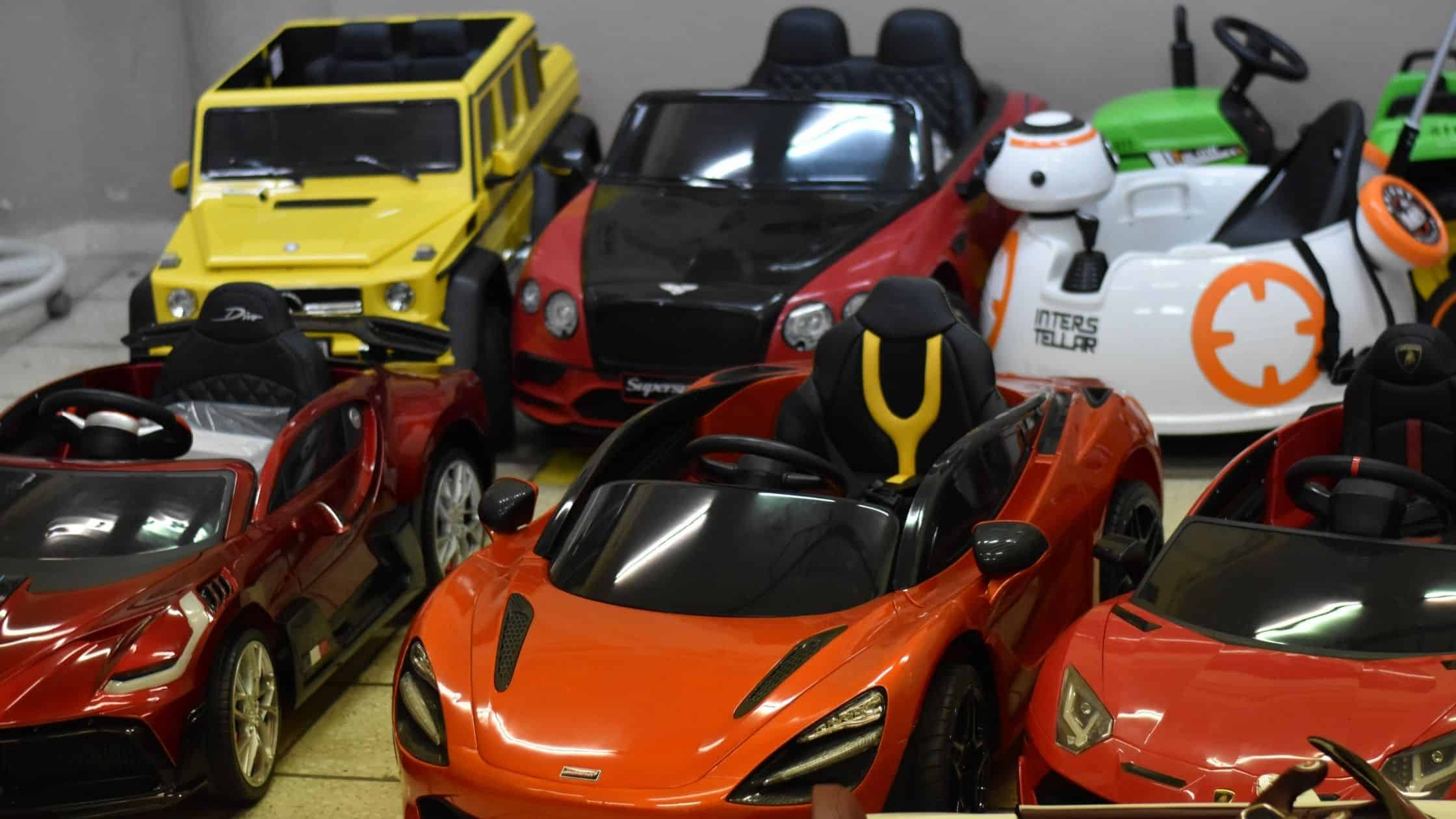 Different Types of Ride-on Cars