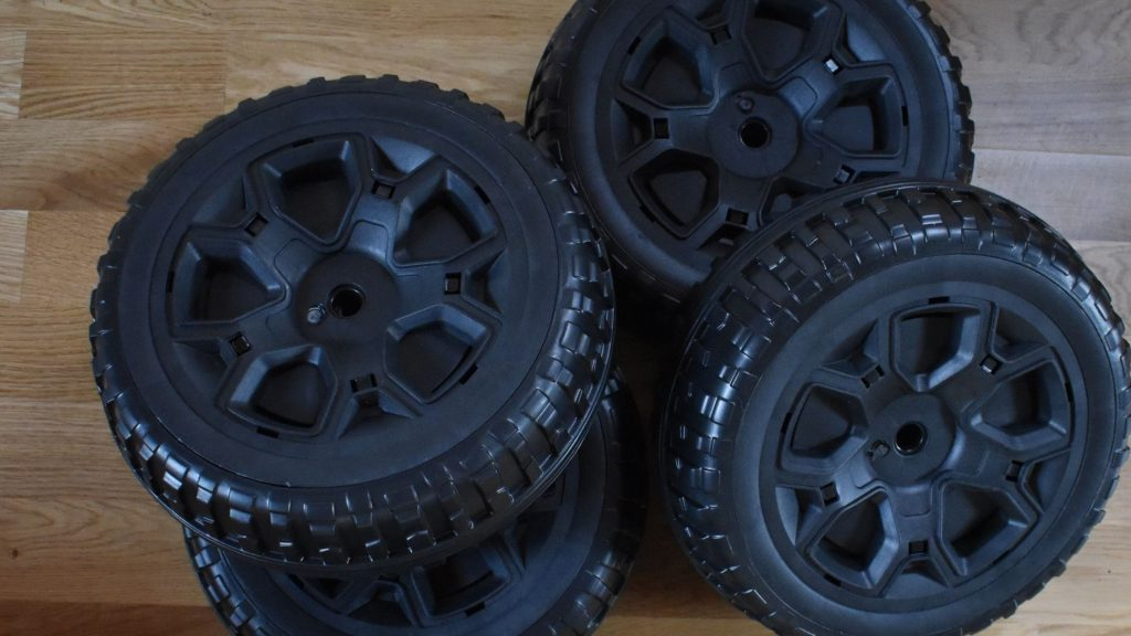 How to Replace Tires on Power Wheels