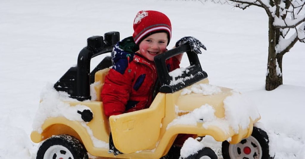 Can Power Wheels go in Snow?